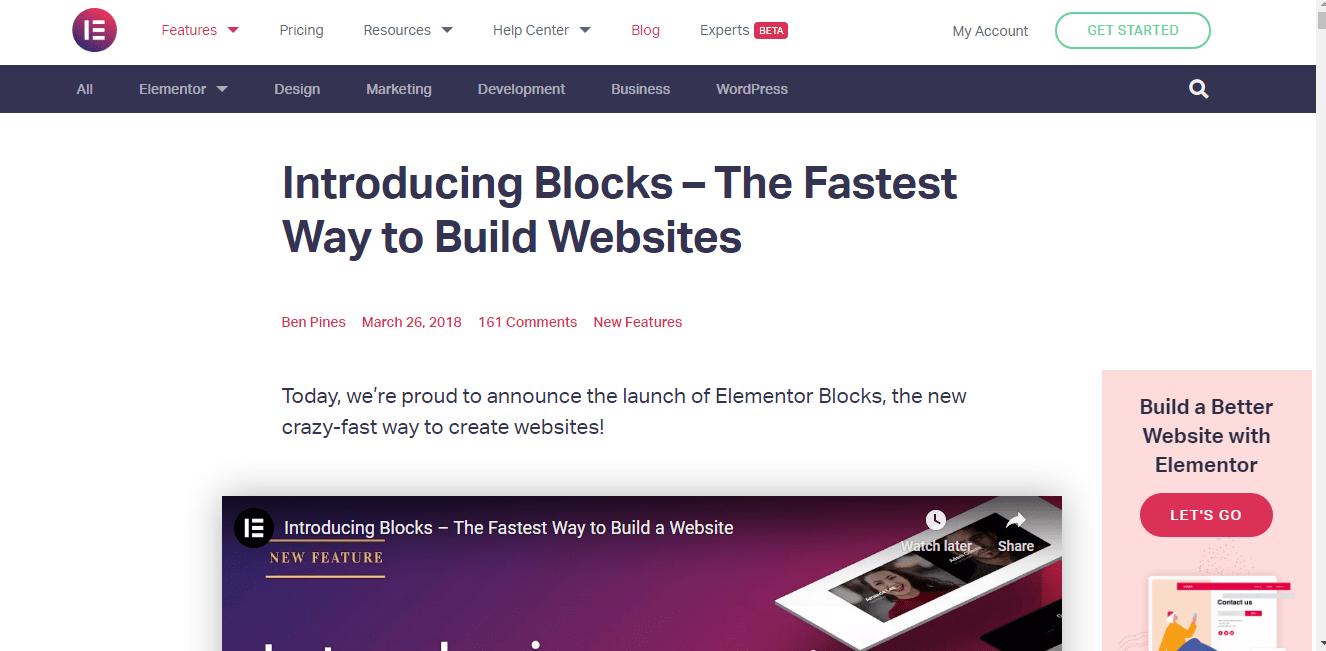Elementor Blocks