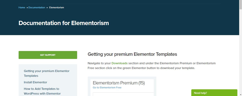 Documentation For Elementorism