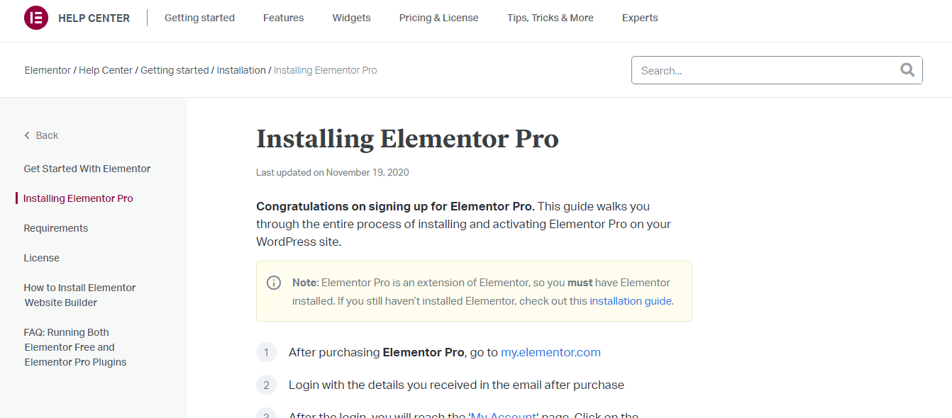 How-To-Install-Elementor