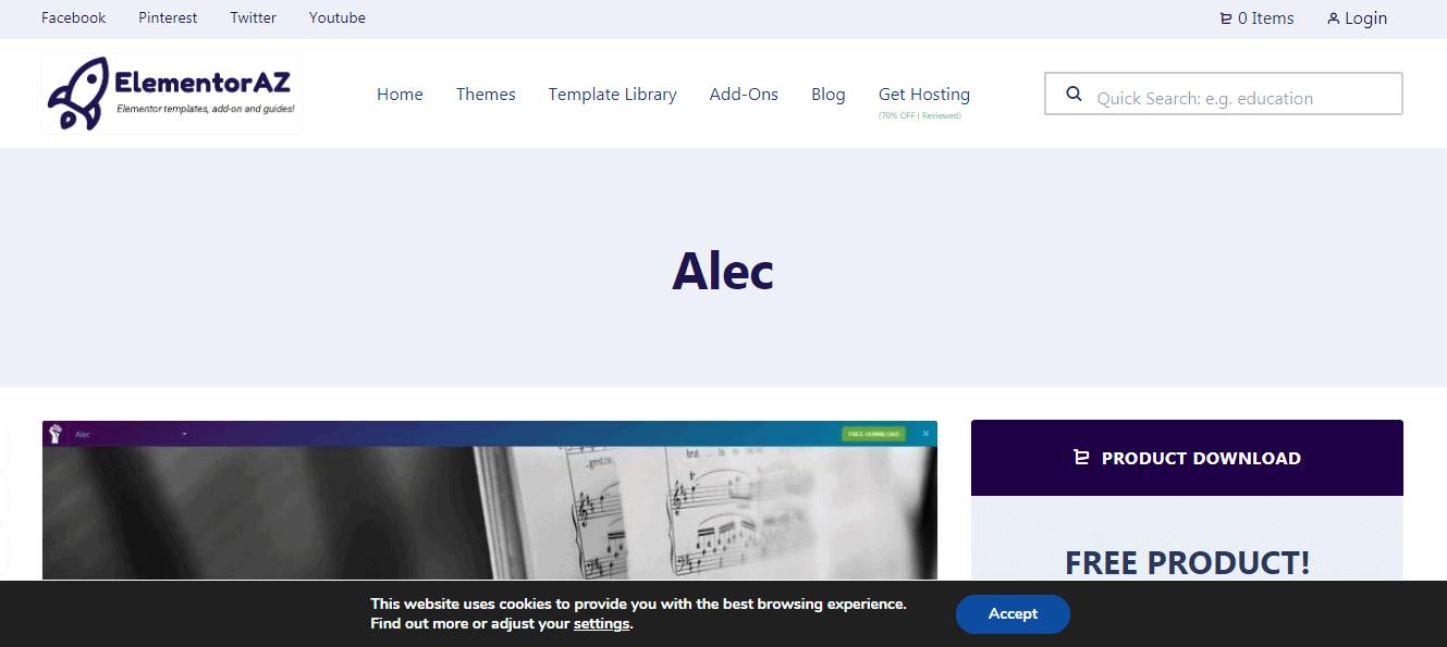 Alec Theme