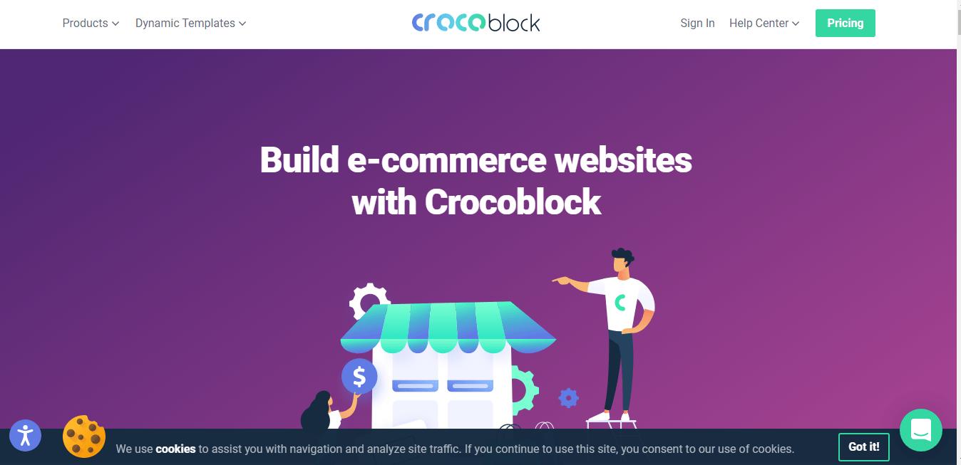 Croco Block Add Ons