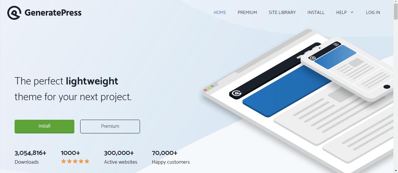 GeneratePress Theme