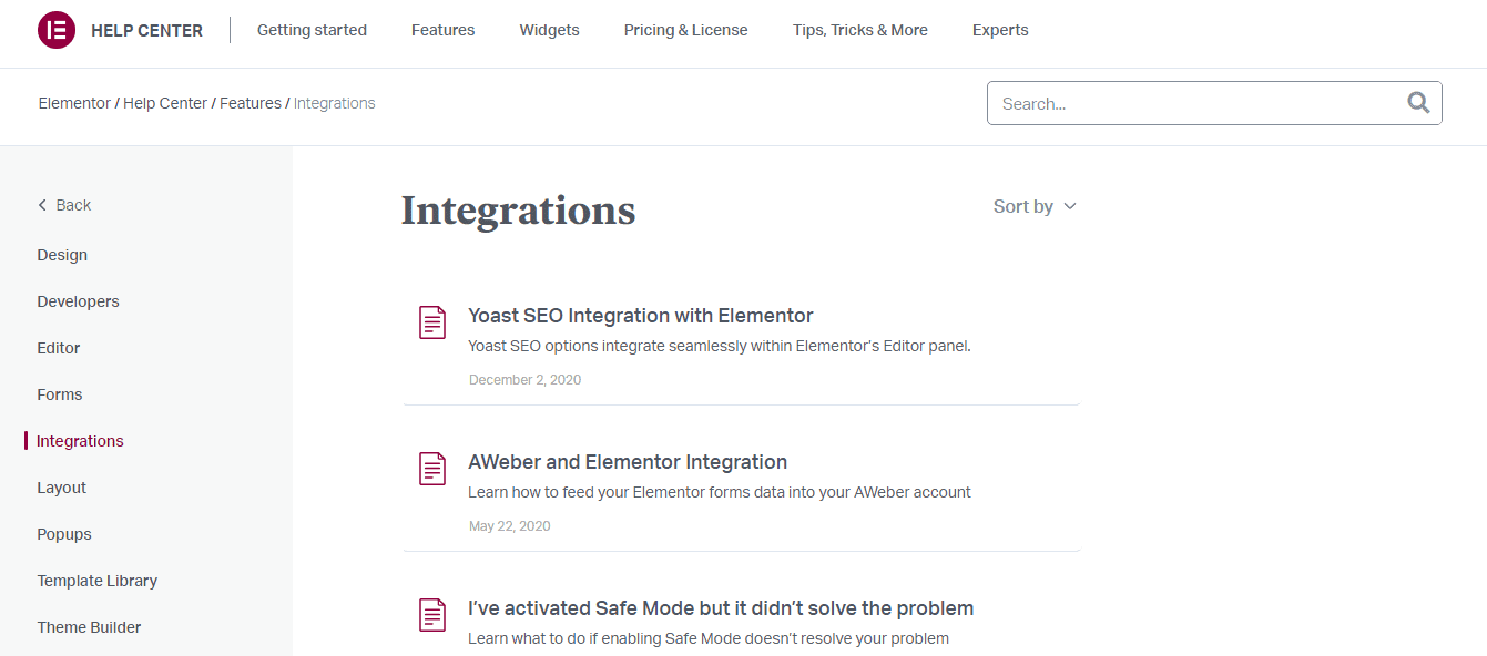 Elementor Pro Review-Integrations