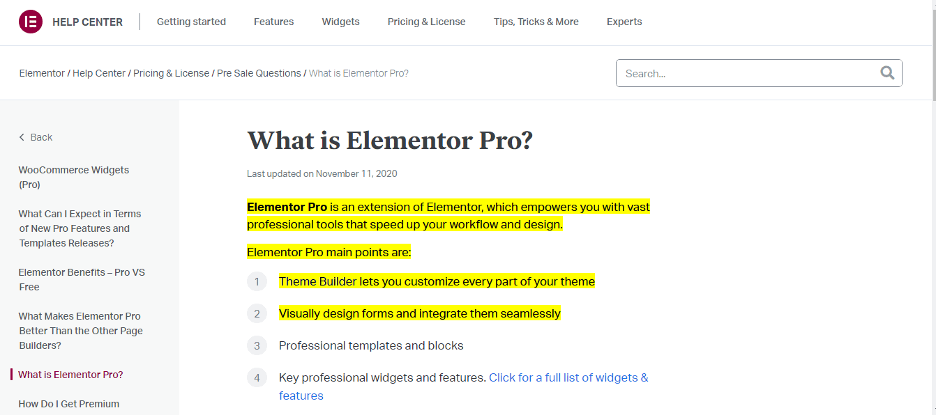 What is Elementor Pro