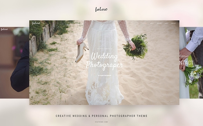 Best Pink WordPress Themes - Falero