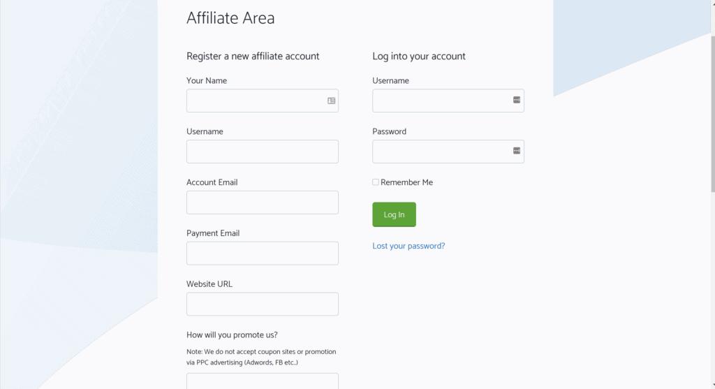 GeneratePress Affiliate area- GP affiliate marketing program