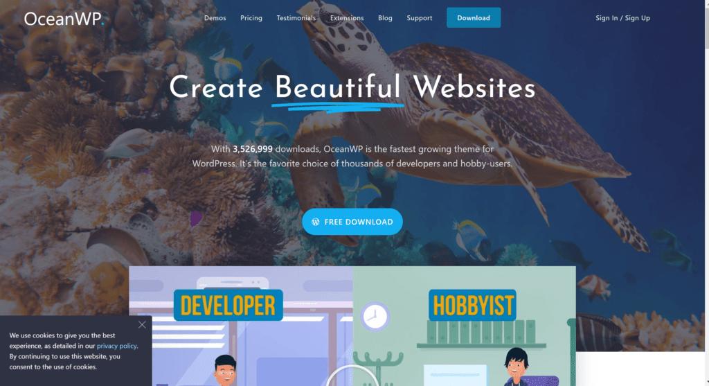 Ocean WP theme- GeneratePress review and alternatives