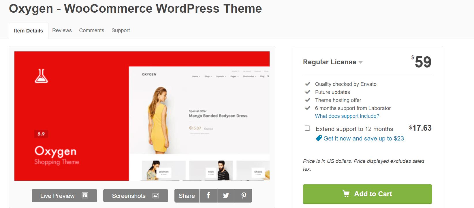 oxygen wordpress theme